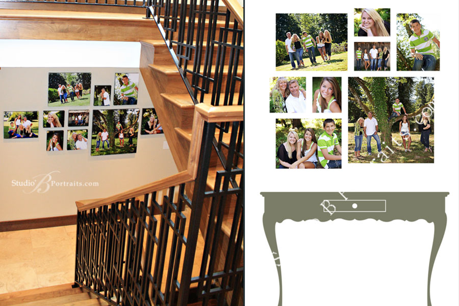 Decorating-with-Family-Pictures-using-Canvas-Gallery-Wraps-at-Studio-B-Portraits