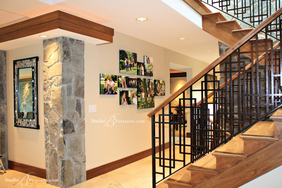 Decorating-with-Wall-Portraits-Gallery-Wrap-Canvas