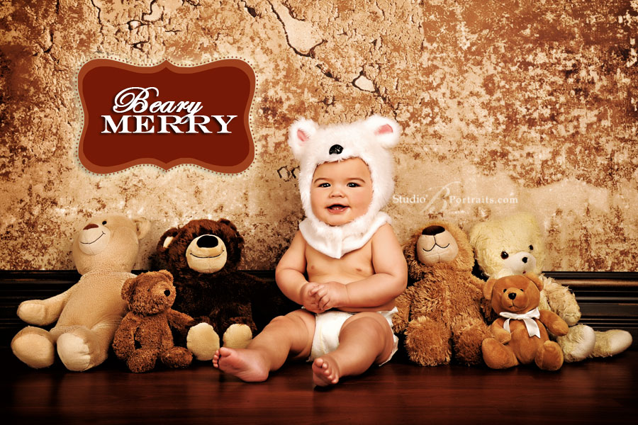 Adorable-baby-boy-in-a-bear-suit-photographed-at-Studio-B-Portraits