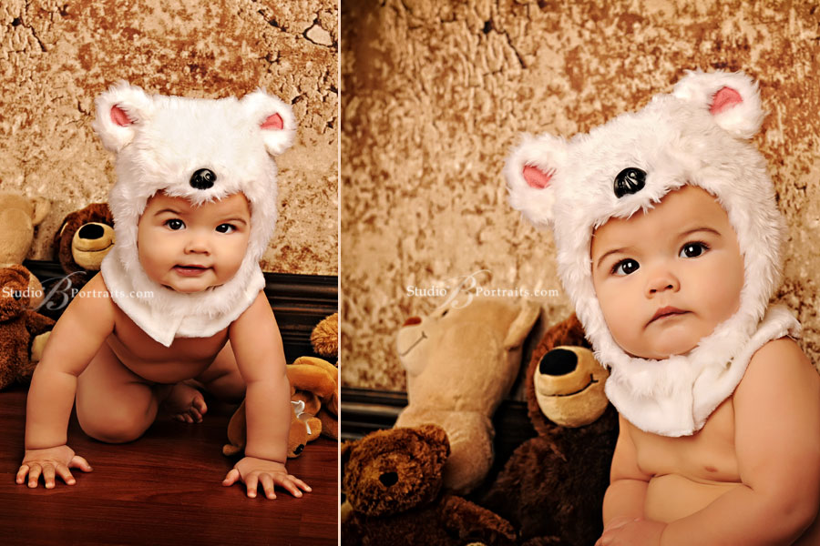 Baby-in-a-bear-hat-at-Studio-B-Portraits