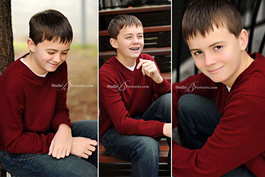 Cute-boy-laughing-during-family-pictures-at-Studio-B-in-Issaquah-WA