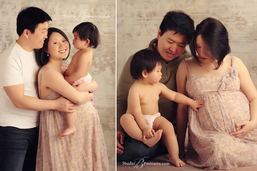 Seattle-Maternity-Photographer-of-Asian-Family