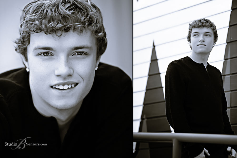 Black-and-white-boy-senior-pictures-photographed-at-Studio-B-Seniors