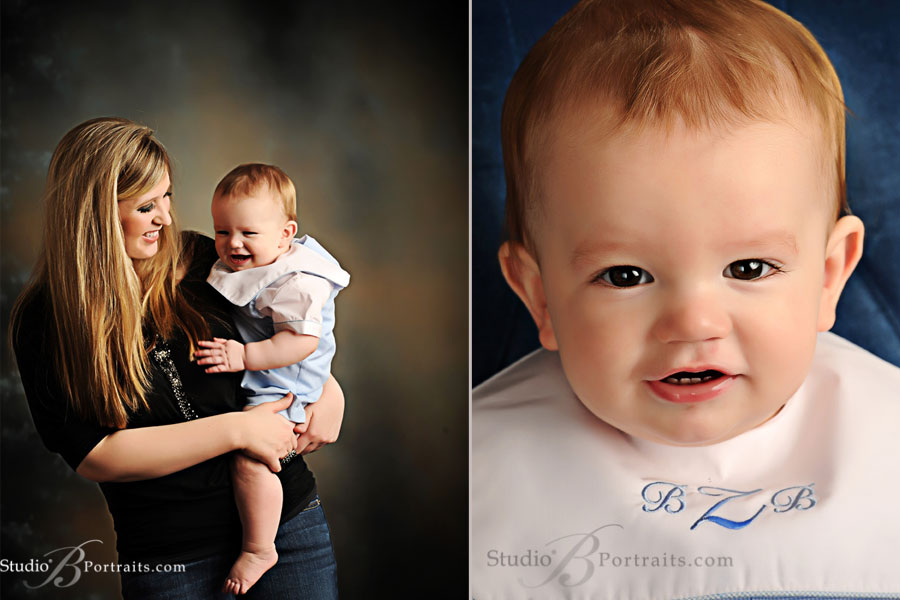 Classic-portrait-of-laughing-baby-boy-in-jonjon-with-mom--at-Studio-B
