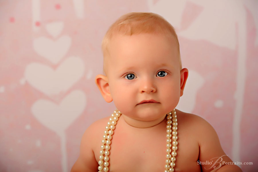 9-month-baby-girl-in-pearls-at-Studio-B-Portraits-in-Issaquah