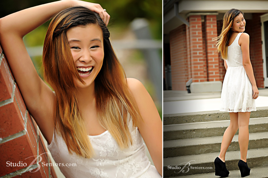 Issaquah-high-school-senior-girl-laughing-at-Studio-B-near-Seattle
