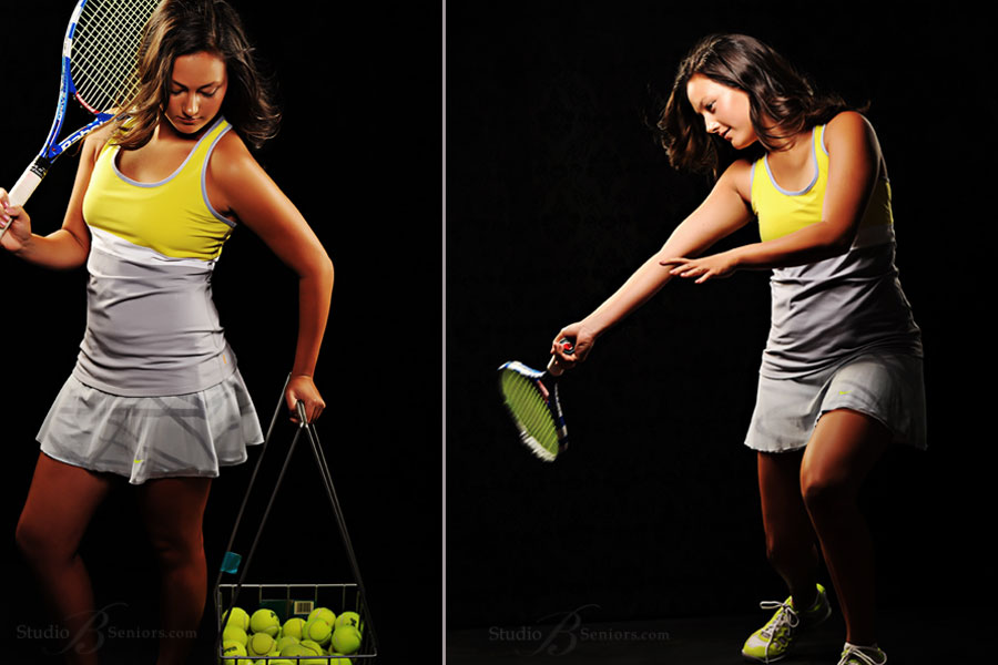 Cool-Tennis-senior-pictures-at-Studio-B-Portraits-of-Issaquah-girl