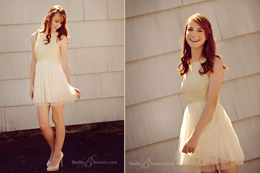Beautiful-senior-pictures-of-International-School-Kirkland-girl-in-pretty-promo-dress-outdoors-in-Issaquah