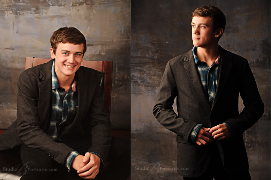 Cool-guy-senior-pictures-of-Mercer-Island-High-School-boy-in-modern-sport-coat-and-jeans