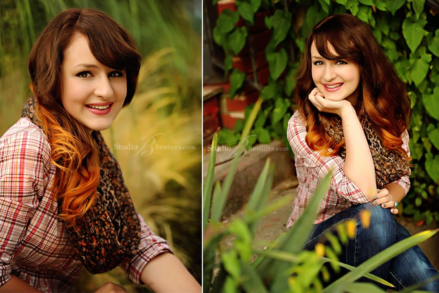 Best-senior-pictures-in-Seattle-featuring-ombre-hair-color-of-Liberty-girl