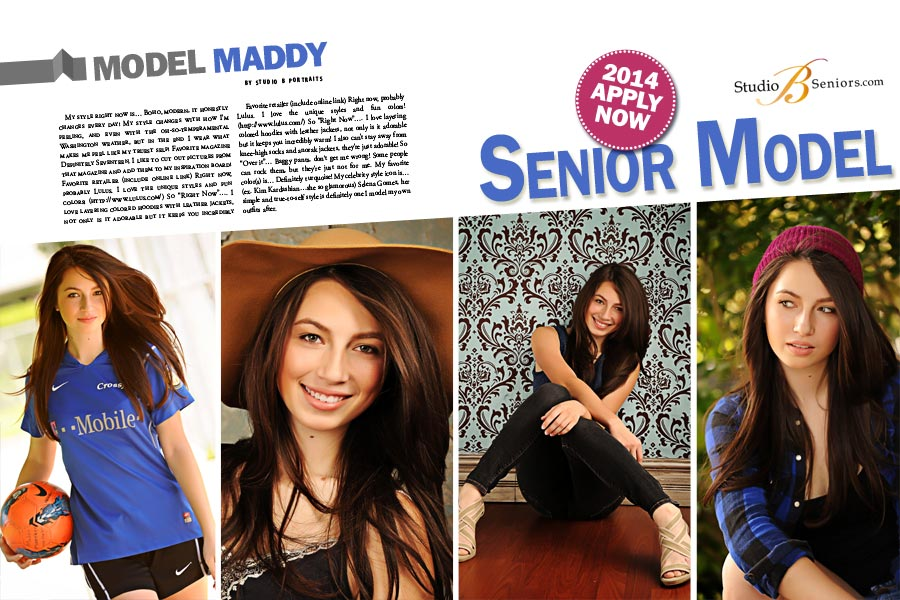 Studio-B-Portraits_High-School-Senior-Pictures-Model-Team_Maddy Redmond High School