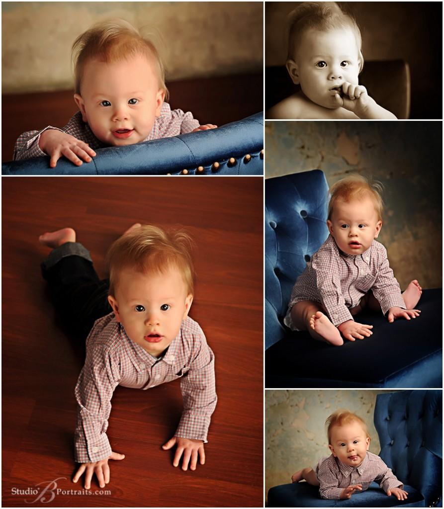 Studio B Portraits_baby boy 8 months