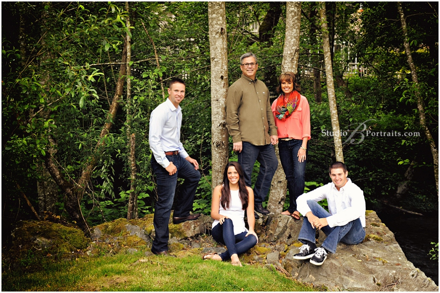 Great outdoor family portraits in wood near stream_Studio B_0020.jpg