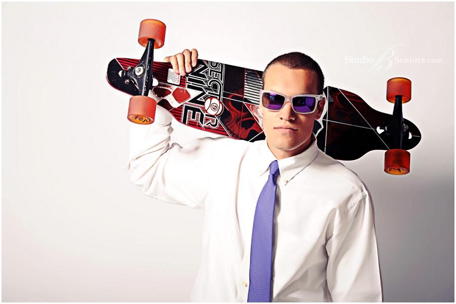 Cool guy senior pictures with skateboard and sunglasses_Eastside Catholic High School_StudioB_0054.jpg