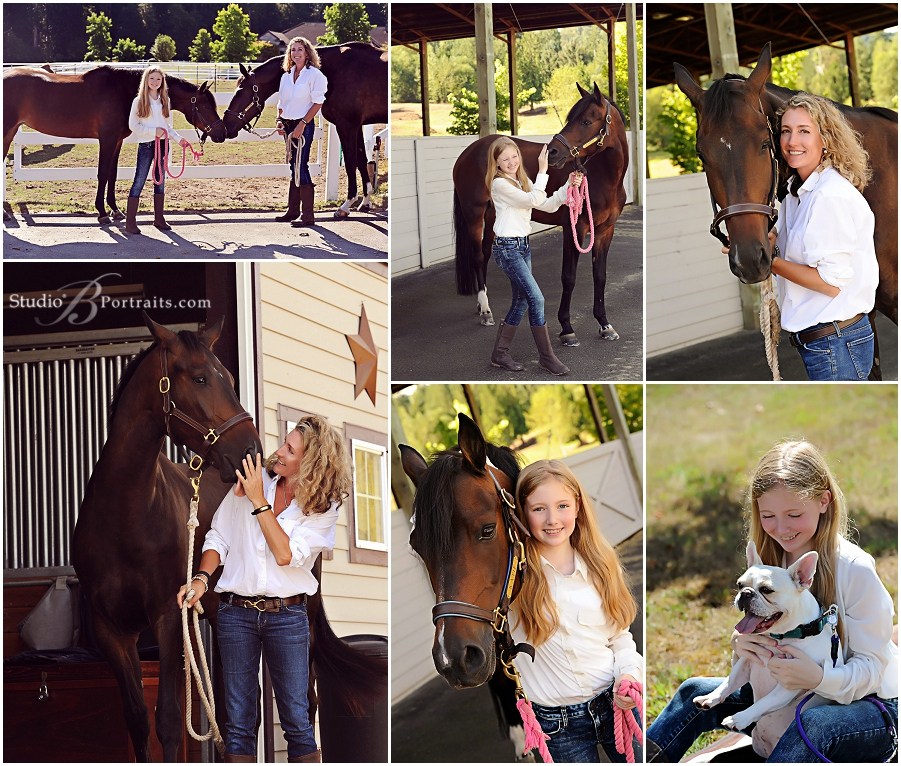 Family photo shoot at stables with horses and bulldogs_StudioB_0077.jpg