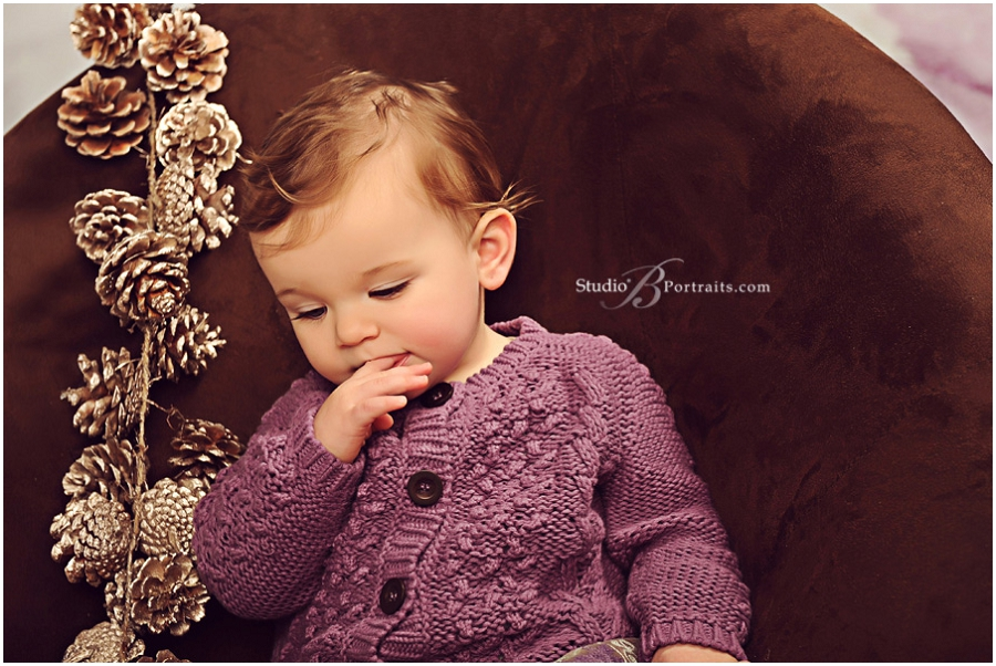 Best holiday family portraits of pretty couple with baby girl__Brooke Clark_Studio B Portraits_0155.jpg