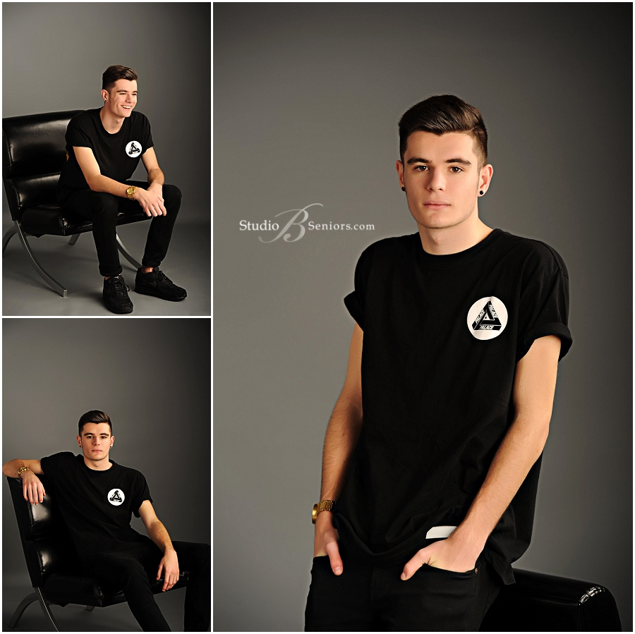 Cool guy senior pictures of Overlake High School boy in black tshirt _Studio B Seniors_0037.jpg