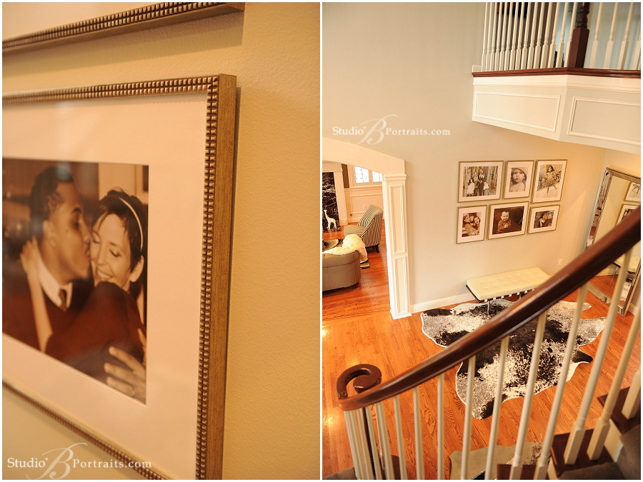 Decorating-with-family wall-portraits-in-the-entry-way_Studio-B-Portraits