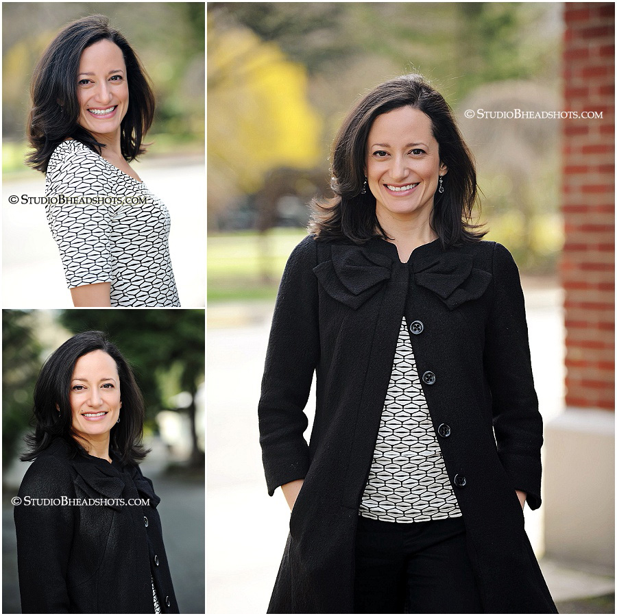 Great professional headshots outdoors of woman in geometric black & white print_StudioBportraits_0001.jpg