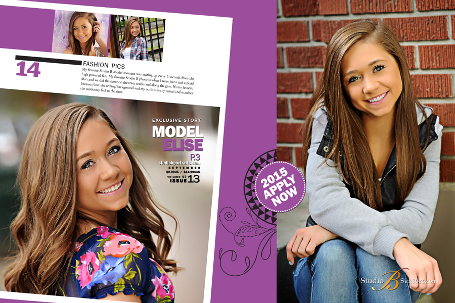 High School Senior Model for Studio B Seniors_IHS