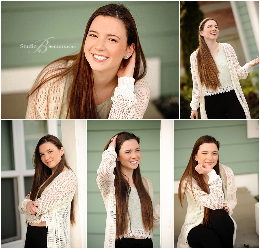 Senior pictures of girl near Bellevue in cream sweater_Studio B Seniors_0002.jpg