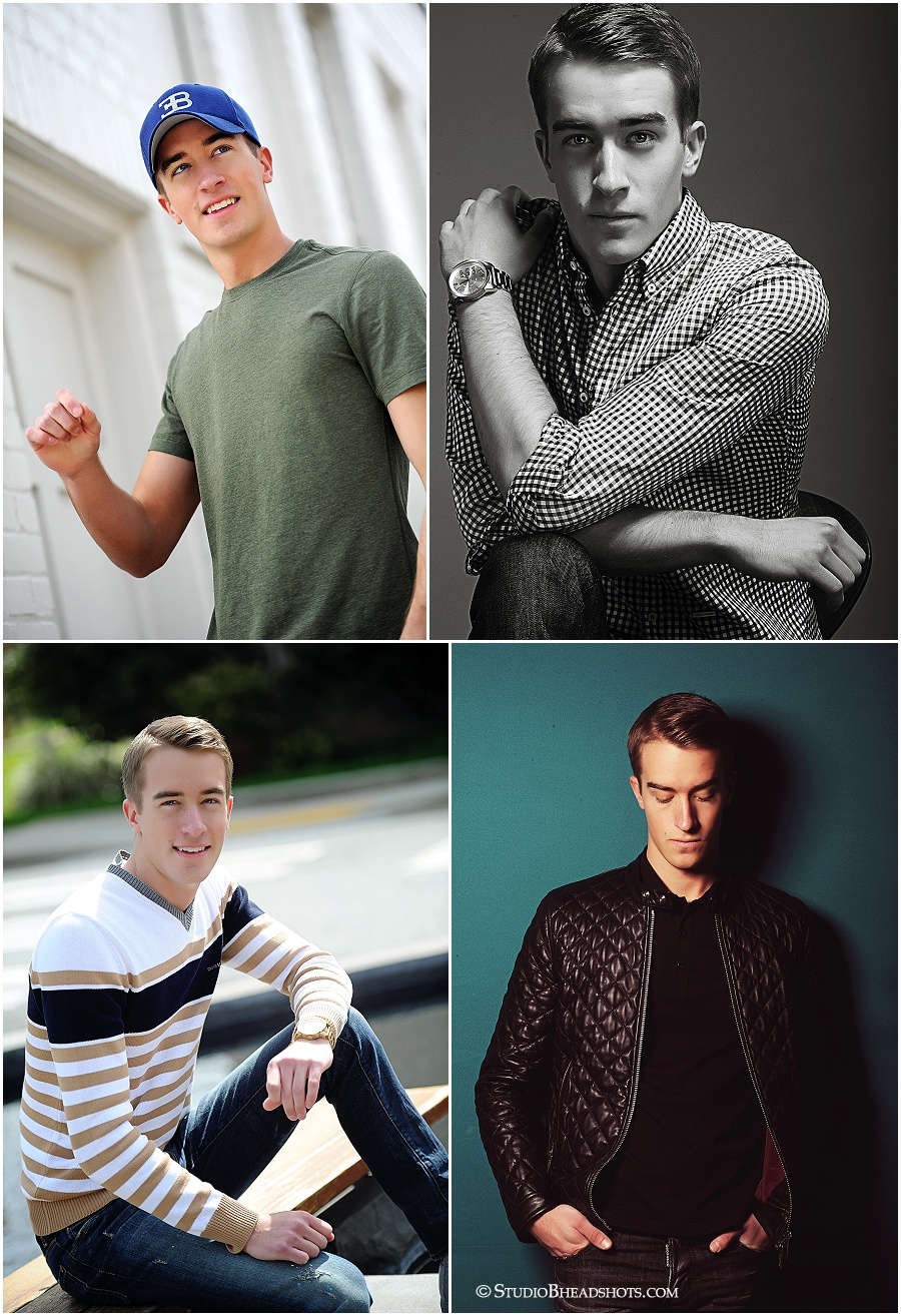 Male model photo shoot_Studio B Portraits