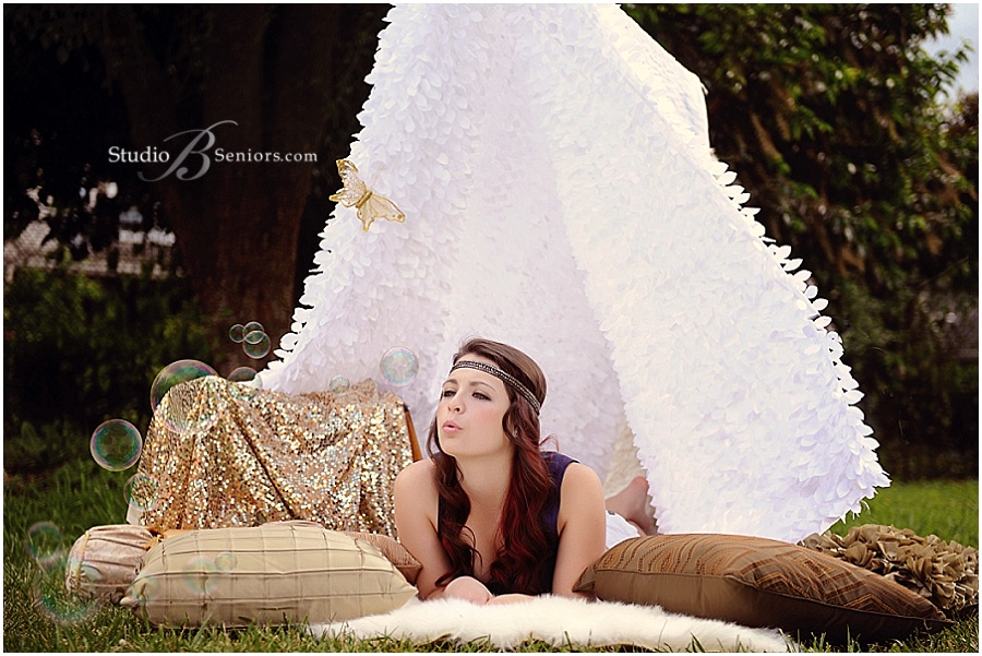 Senior girl inspired by Free People in Tent with Butterfly_Studio B Portraits_0344.jpg