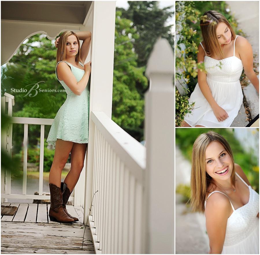 Outdoor senior pictures of girl white sundress_Mount High School_Studio B Portraits_0405