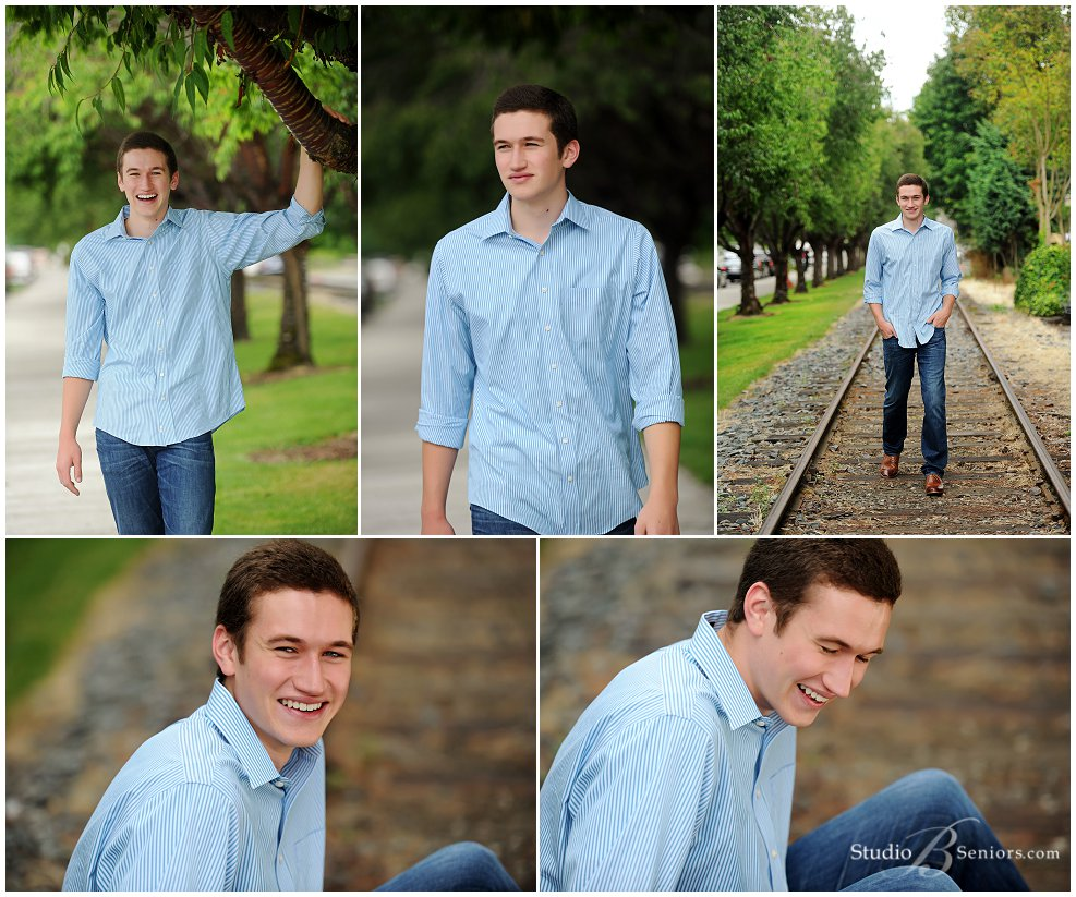 Cool guy senior pictures of Eastside Catholic High School Boy_Studio B Portraits