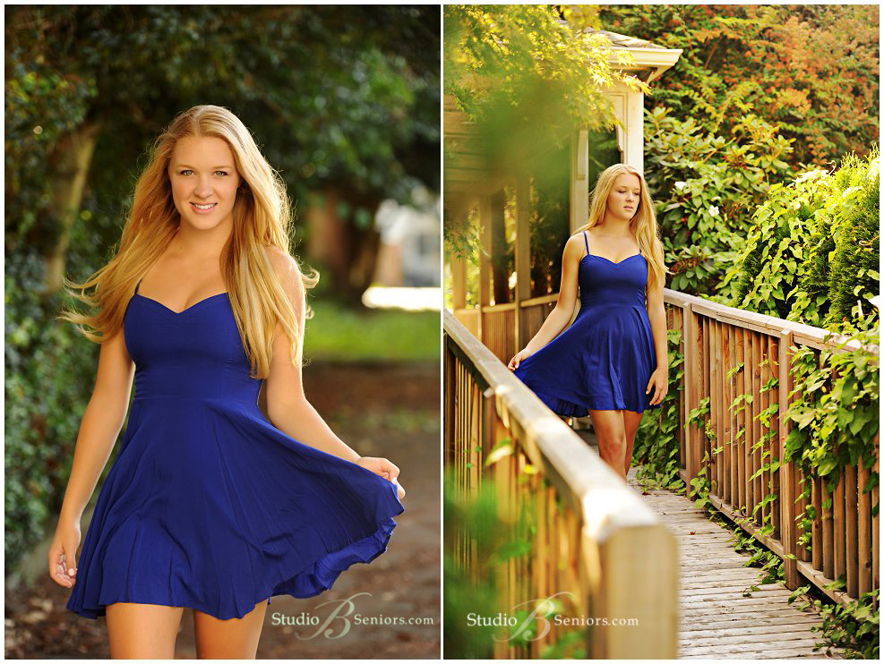 Pretty blonde girl from Eastside Catholic in blue dress_Studio B Portraits_0017