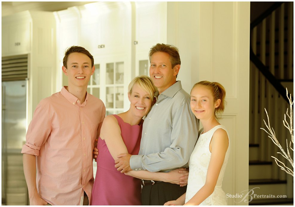 Best Family Pictures in Bellevue on Lake Wash at Studio B