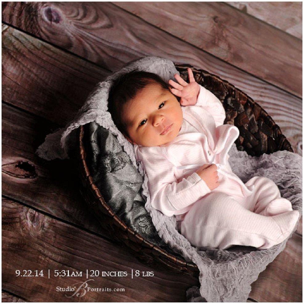 Newborn Baby Girl Portraits | Introducing Scarlett | Seattle