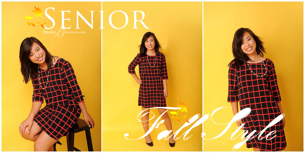 Senior style idea for Fall_Bellevue HS Girl_Studio B Portraits