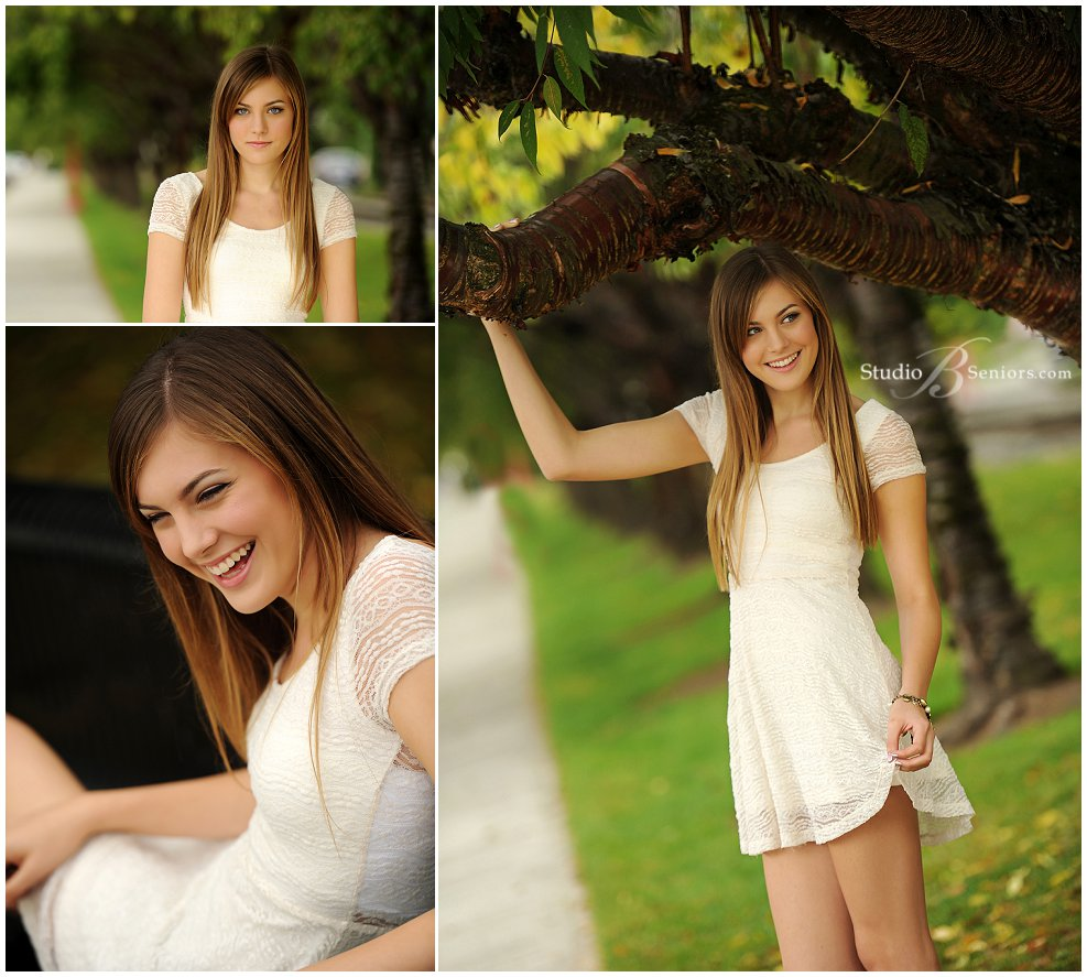 Fall senior pictures of Bellevue Christian girl in cream lace dress_Studio B Portraits_0269.jpg