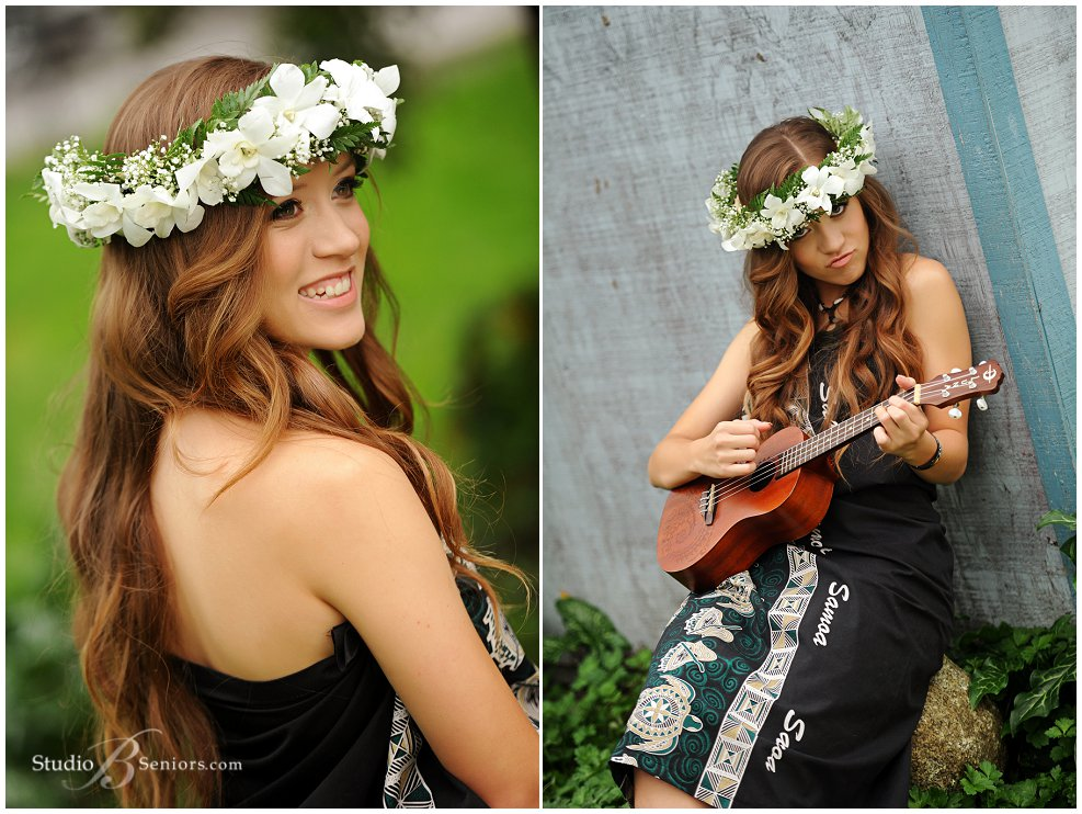 Samoan Girl playing ukulele for senior pictures_Studio B Portraits_0287.jpg