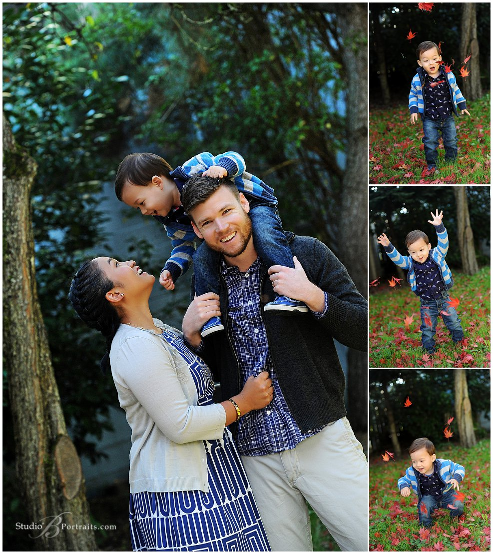 Best family portraits in Seattle_pretty mom and dad with son_Studio B Portraits_0294.jpg