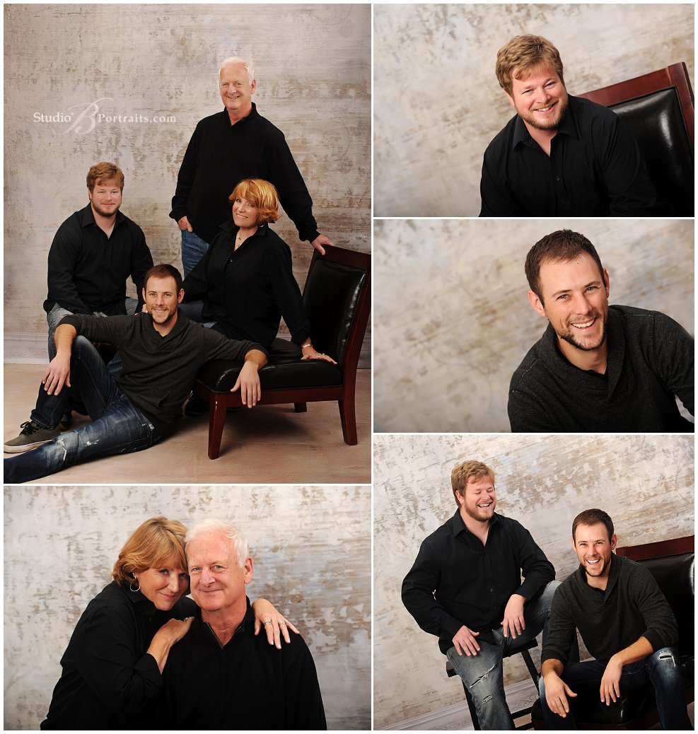 Great family portraits of parents with adult sons_Studio B Portraits_0290.jpg