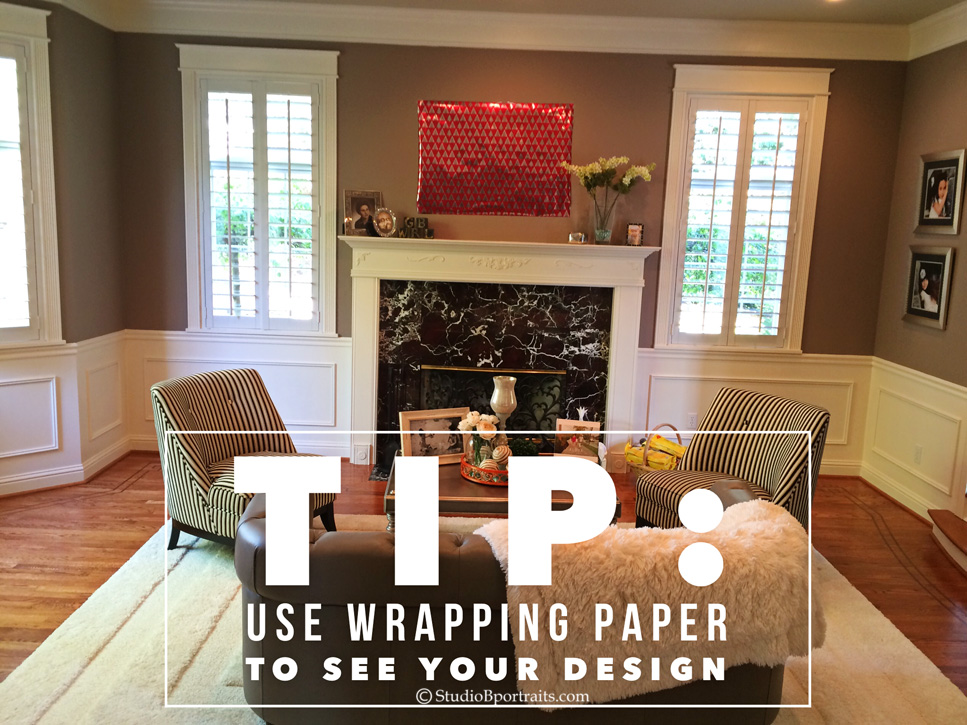 Decorating Tip for Planning Wall Designs_Studio B Portraits