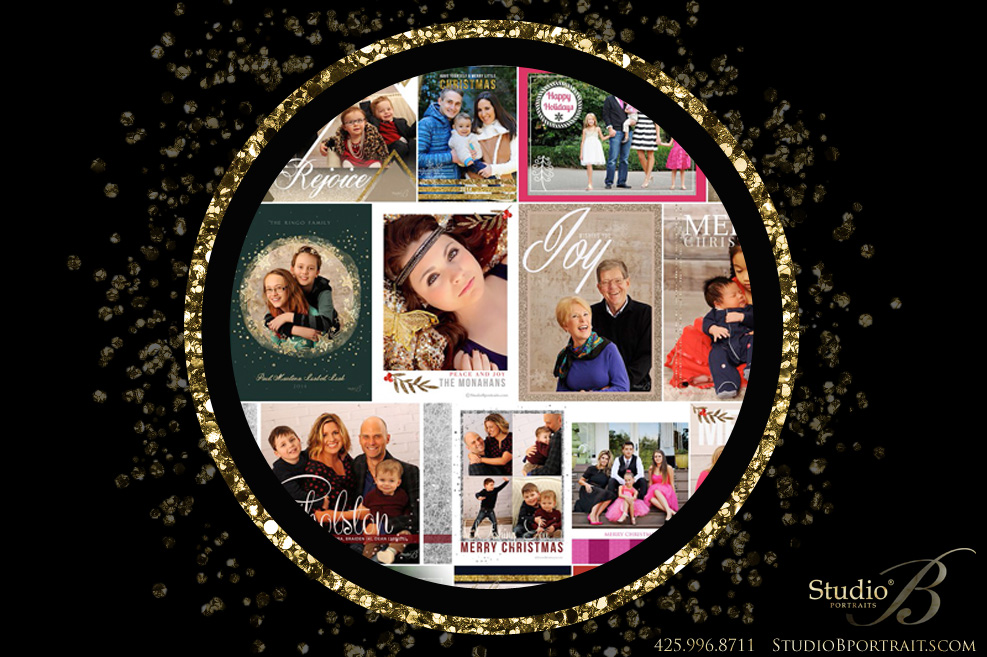 Mixing Business with Personal Photo Holiday Cards