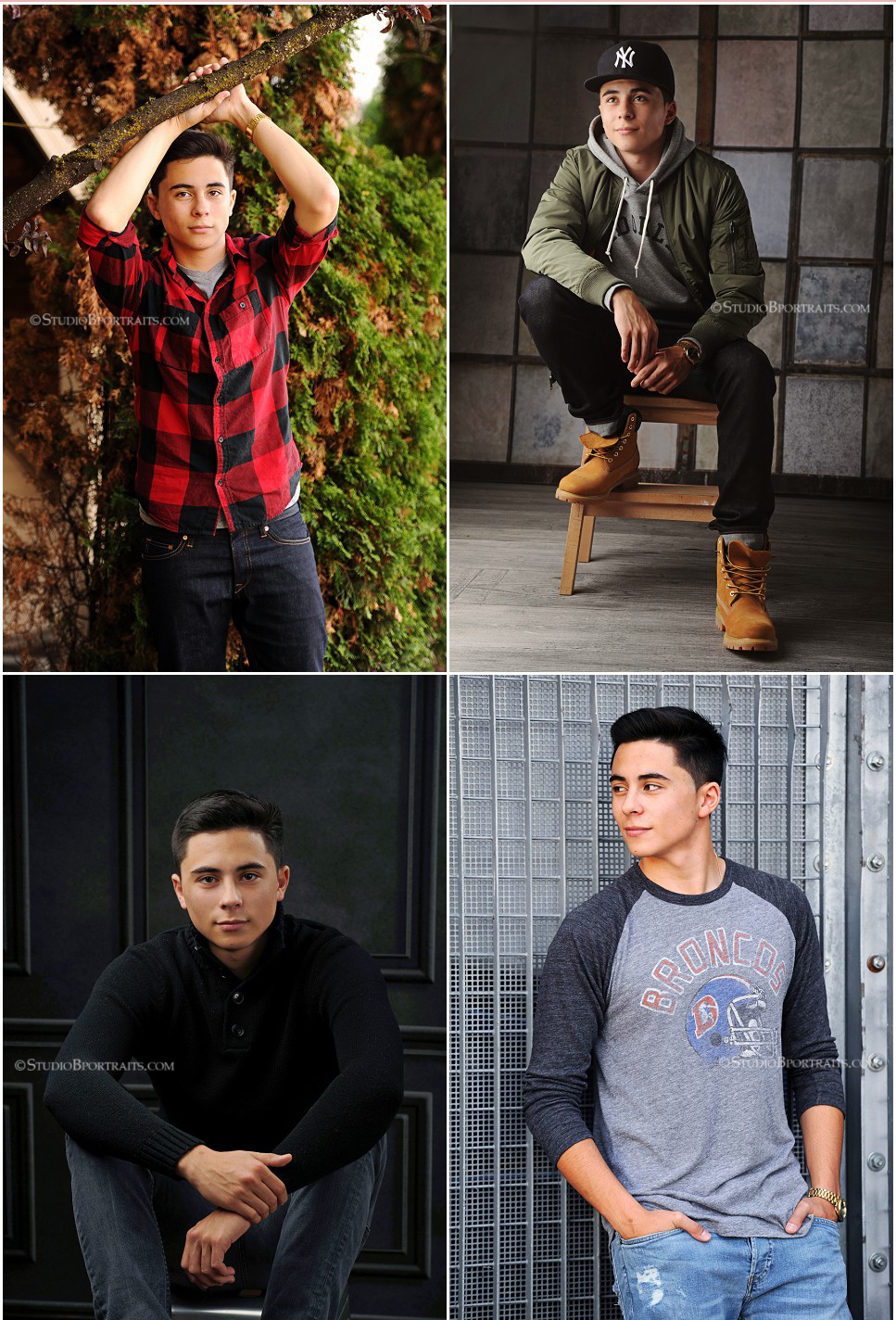Wardrobe ideas and style inspiration for high school senior boys_senior pictures portrait studio