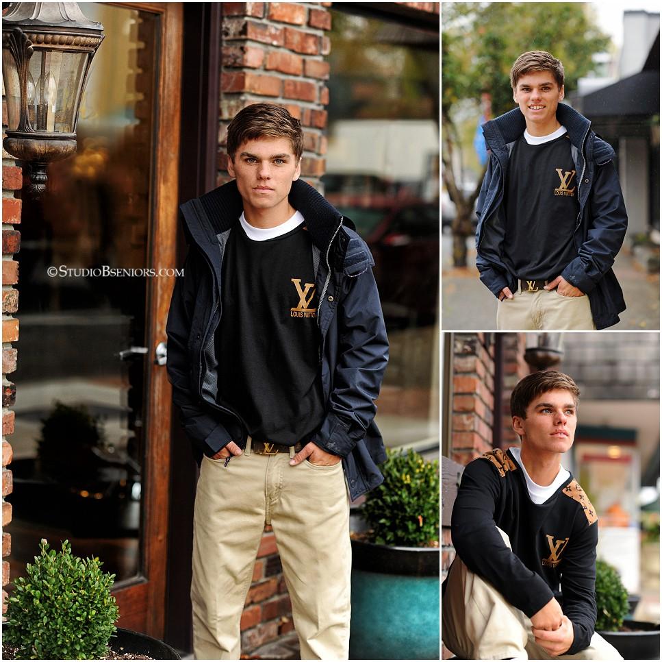 High-school-senior-pictures-of-boy-wearing-Louis-Vuitton-shirt_Studio-B-Portraits
