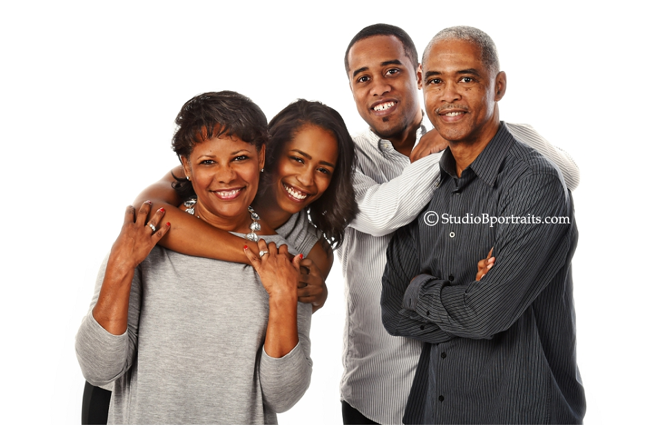 Family photo shoot in the studio with African American family for Pine Lake Family Dentistry_0249.jpg