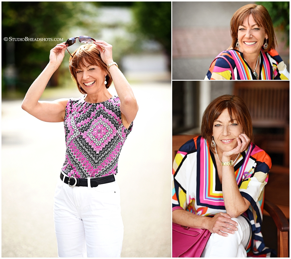 Using color and patterns to make your headshot photo memorable