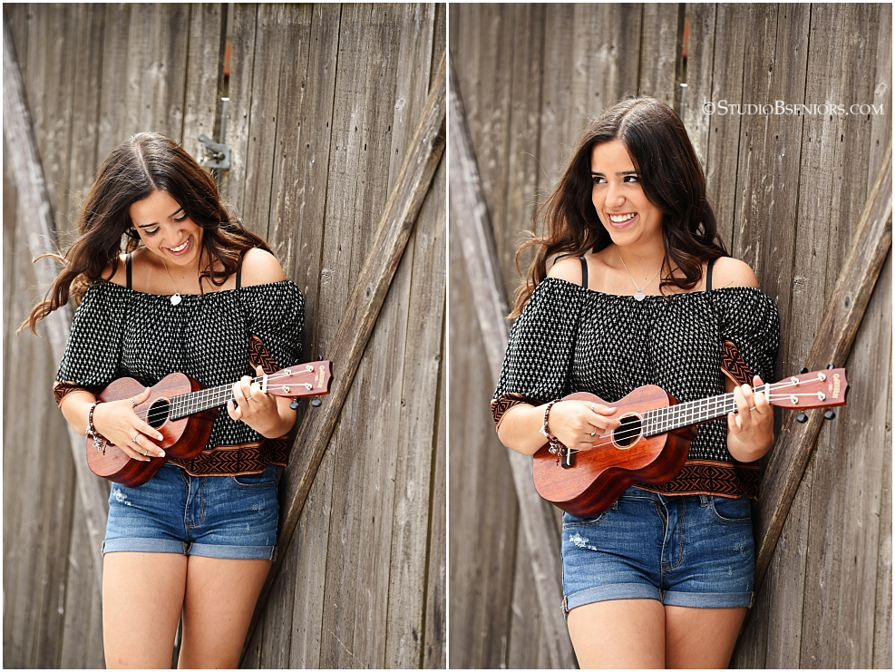 Senior pictures with a ukulele_0363