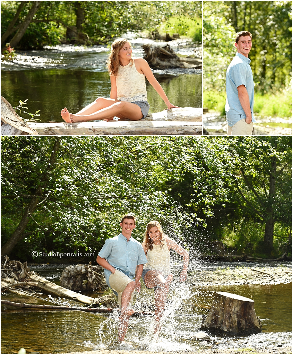 Go ahead and get wet for Summer Family Pictures!