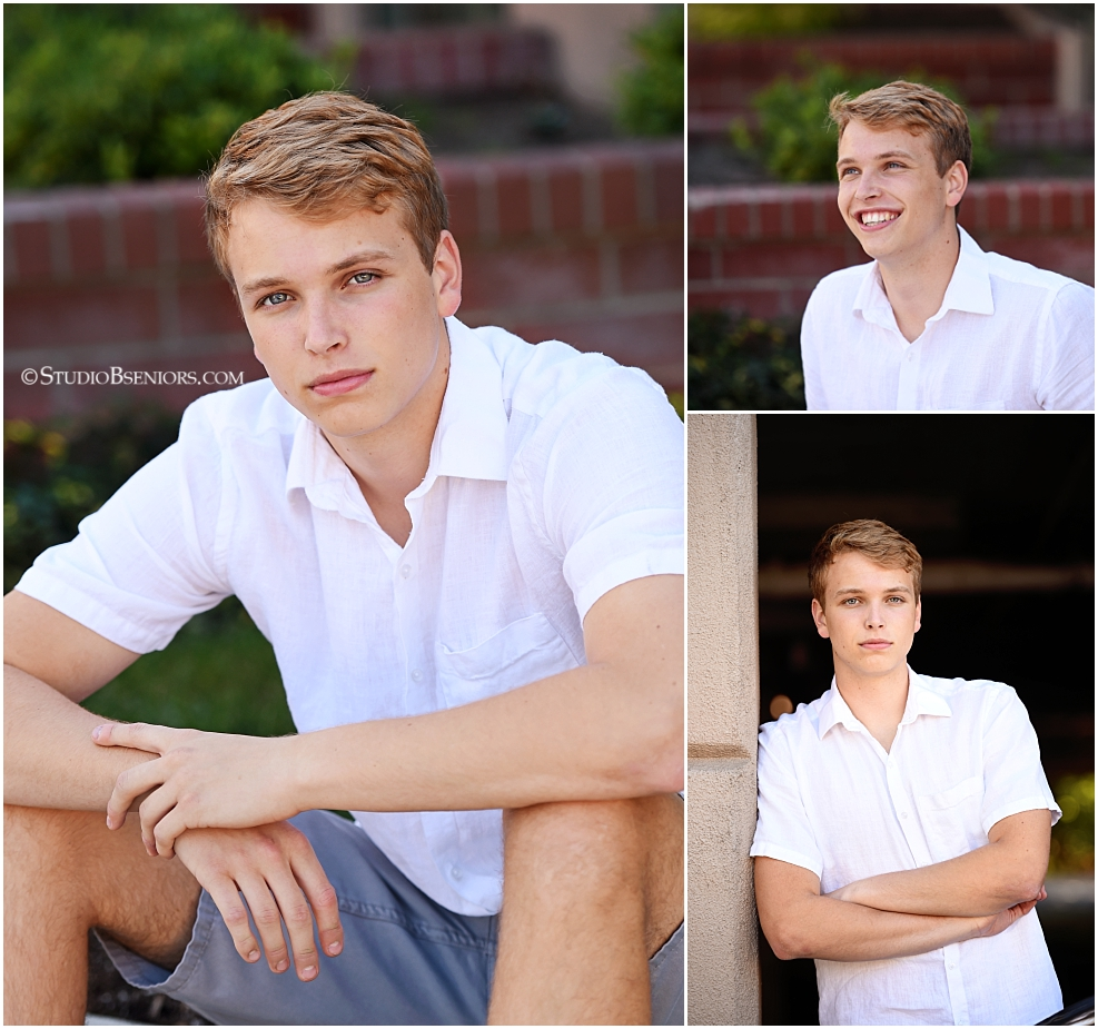Redmond High School Senior Boy photo shoot