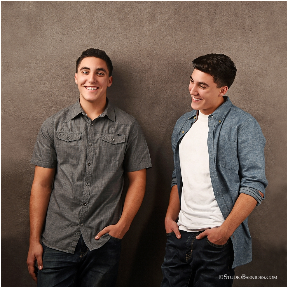 Seeing Double with the Briggs Twins Senior Pictures