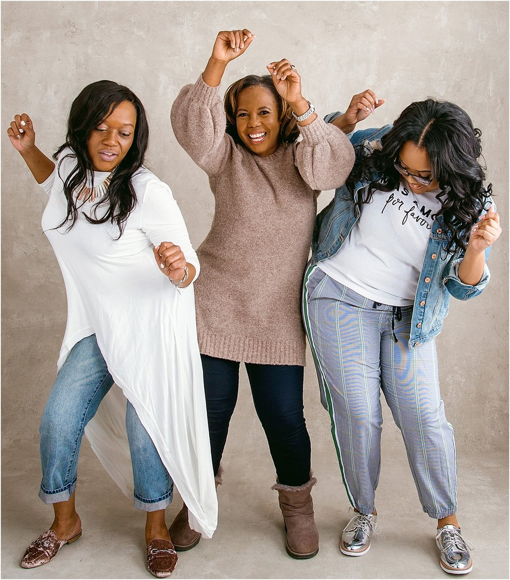 Sometimes you just have to dance it out when the mood is right and your song comes on!  The Hollie ladies know how to let their personalities shine on camera!