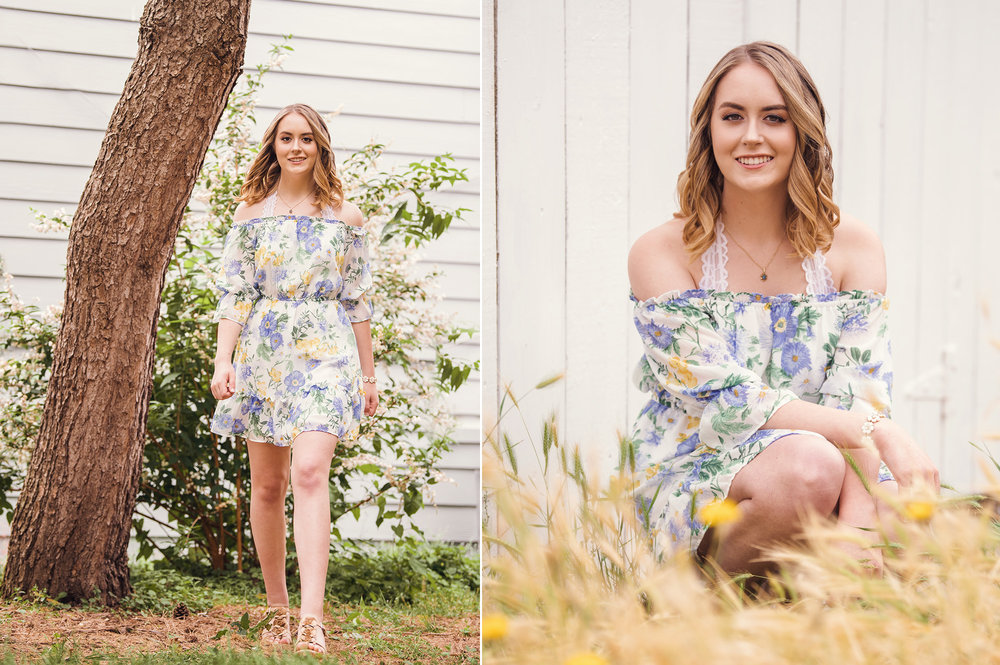 Studio B Portraits_Pretty high school senior in floral dress sitting in golden grass2.jpg