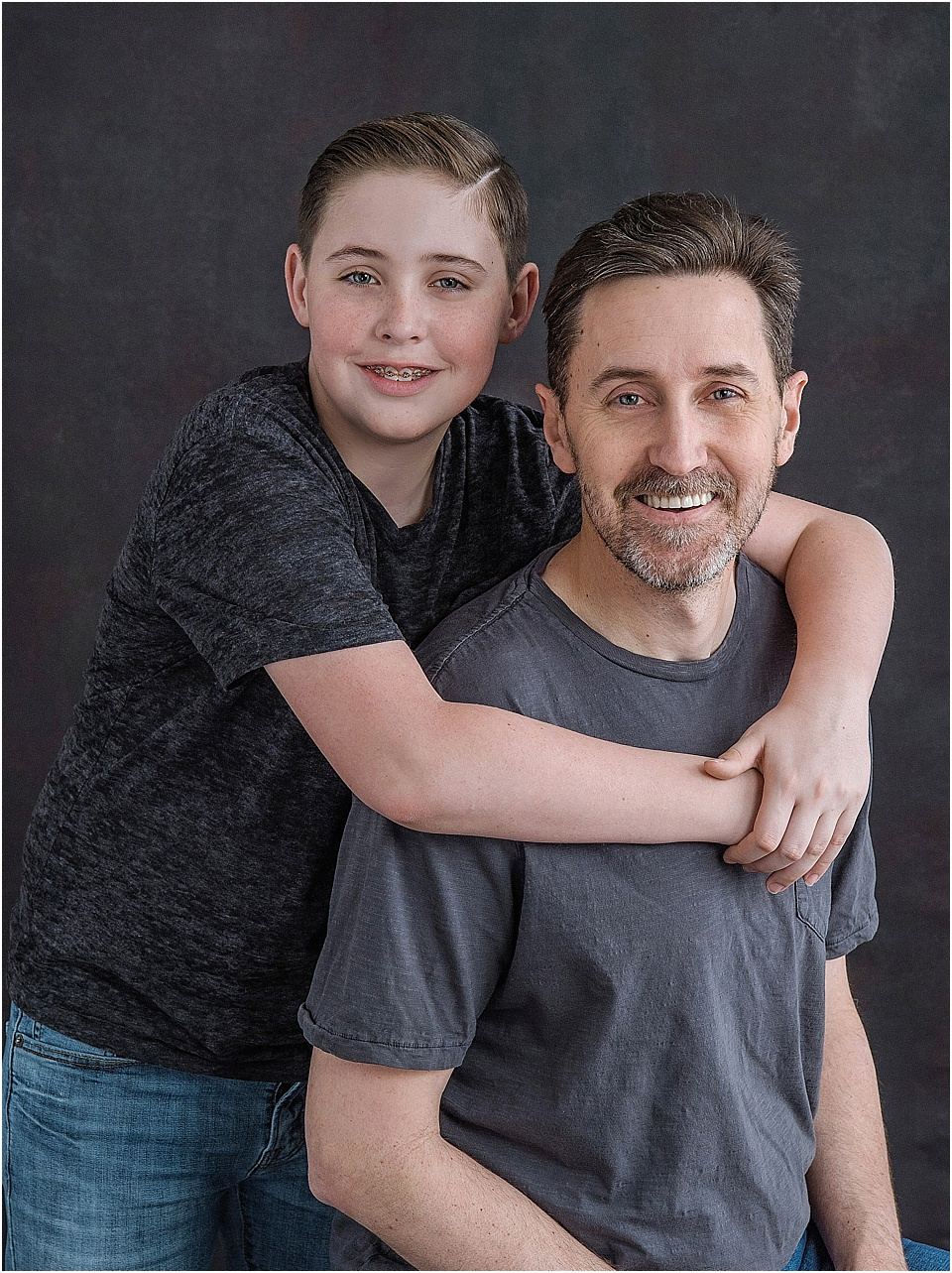The fellas are happiest when they are comfortable so why fight it? Let emotion and connection be their best accessory when Dad and Son take center stage.